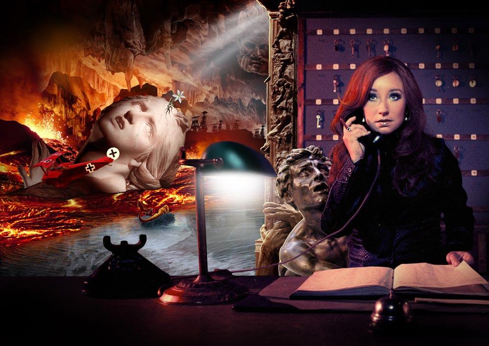 """""""Underworld"""" : monde de Tori Amos, image du site web Torismaze.com, par Jérémy Zucchi (2011)"""